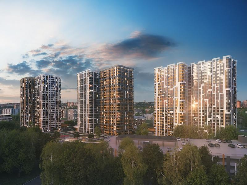 Жилой комплекс Smart-квартал